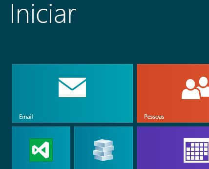 Como configurar email no Windows 8