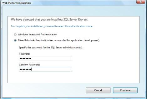 Instalação SQL Server 2008