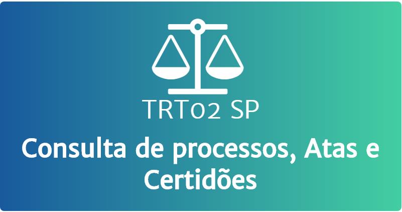 TRT 02 de São Paulo