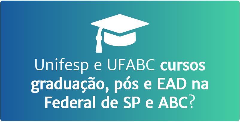 Unifesp e UFABC