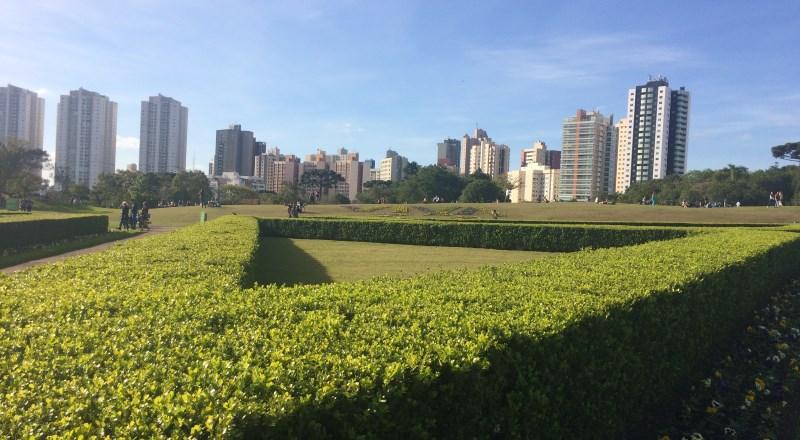 Vista Panorâmica de Curitiba